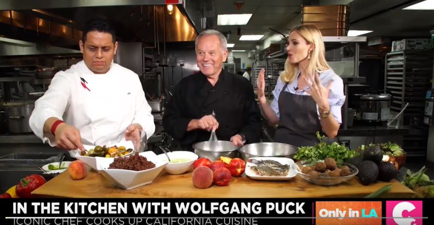 Cooking Up California Cuisine With Wolfgang Puck for Cheddar TV