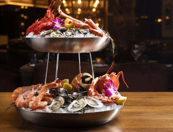CUT Las Vegas' Seafood Tower