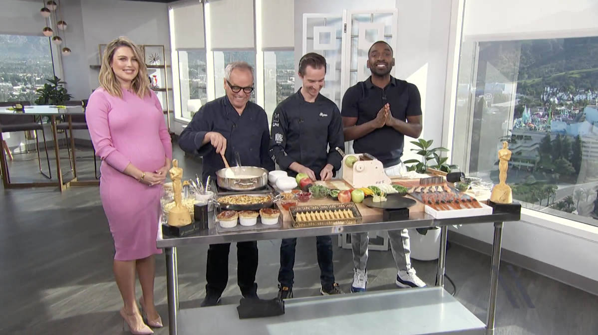 VIDEO: Wolfgang Puck E! a Peek at Oscars Plant-Based Menu