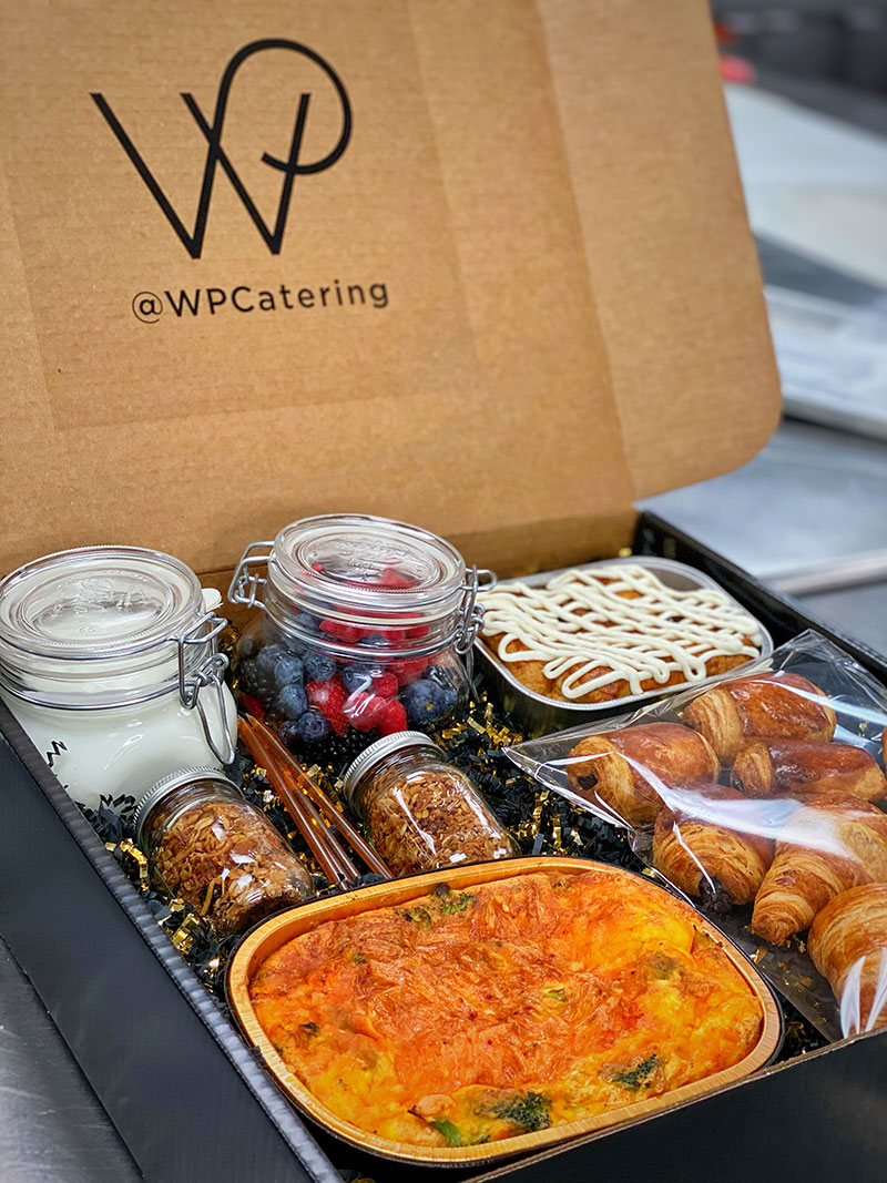 Wolfgang Puck Gratitude Boxes Delicious Food