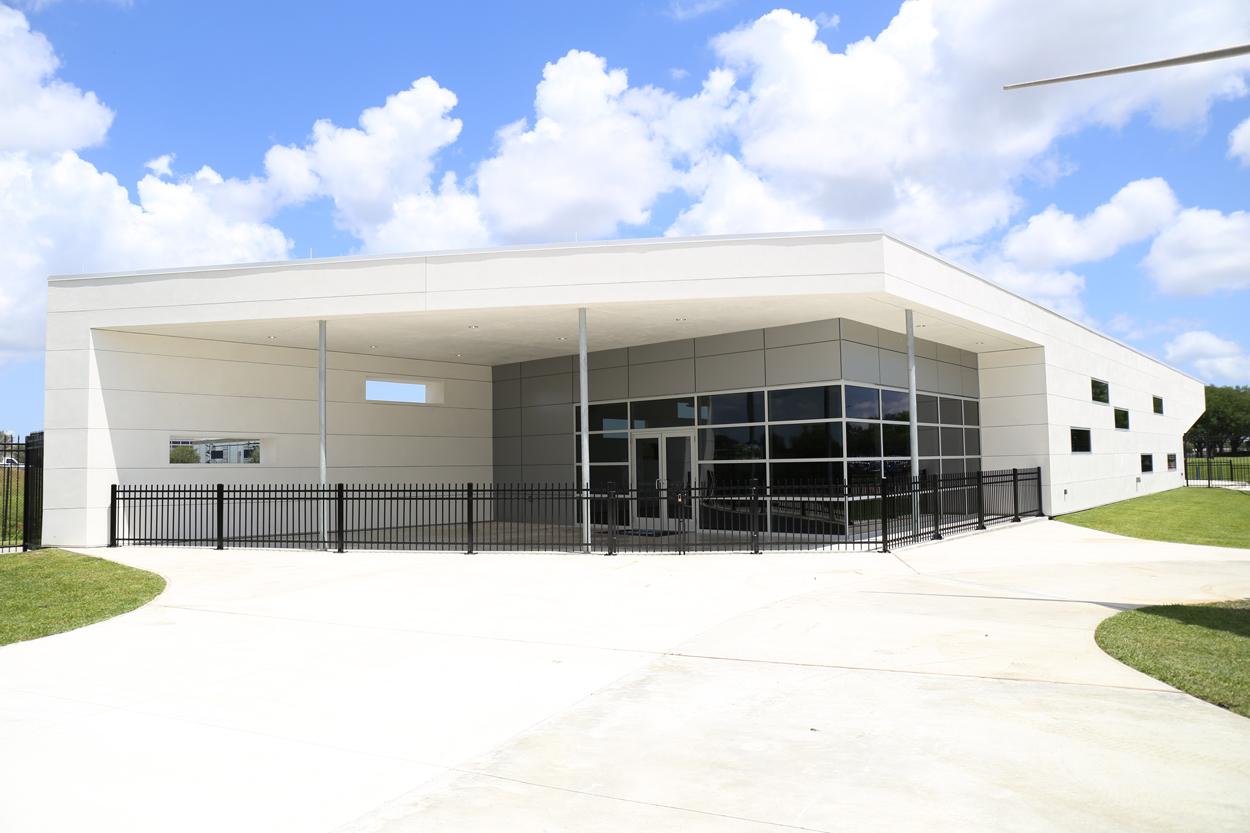 space center houston front entrance
