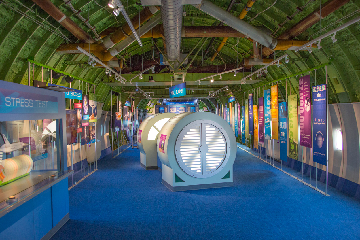 event spaces indoors at space center houston